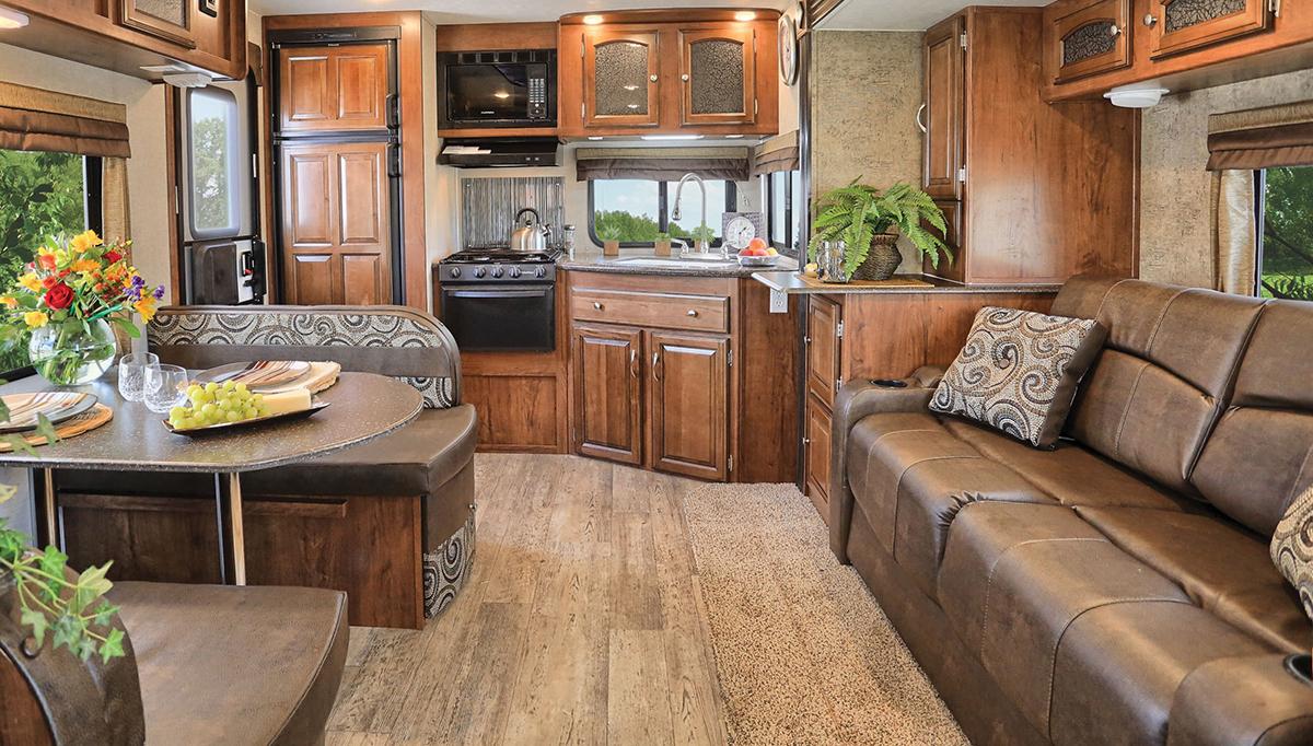 Beau Williamsburg Furniture Travel Trailer Custom Furniture Brown