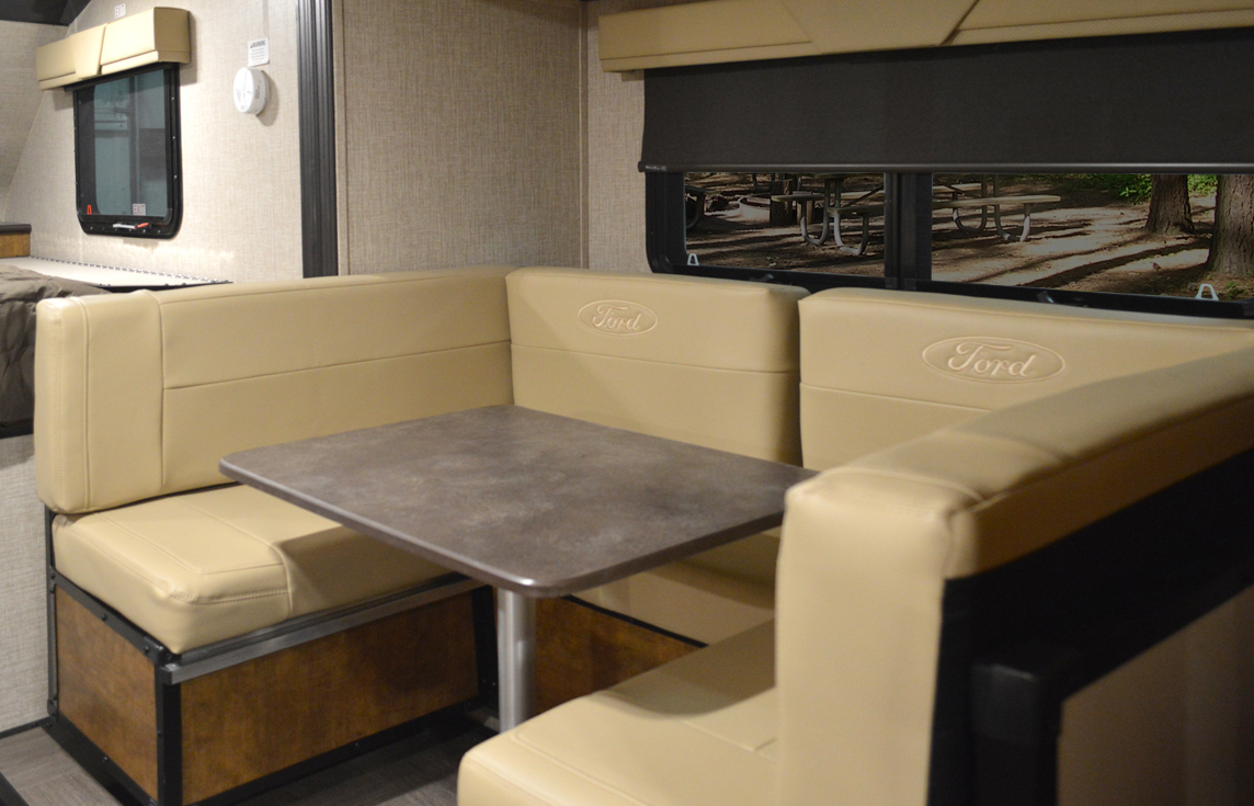furniture travel trailers