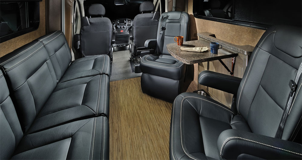 Williamsburg Furniture Custom Leather RV Seating
